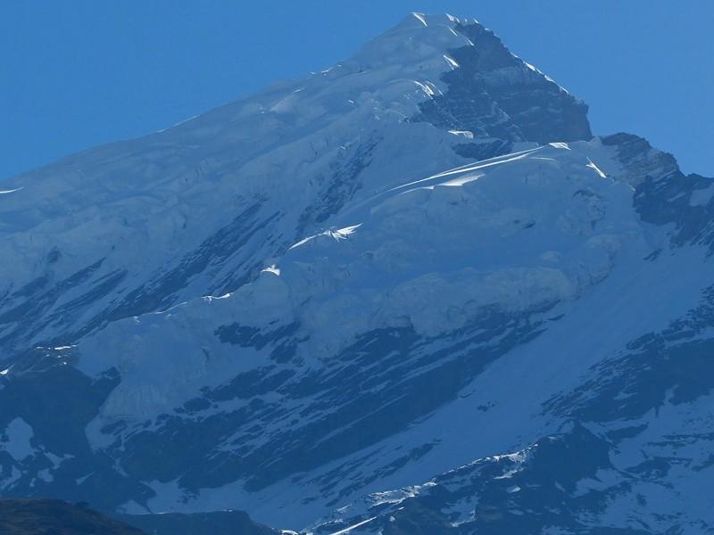 Chulu west peak(6419m) Climb