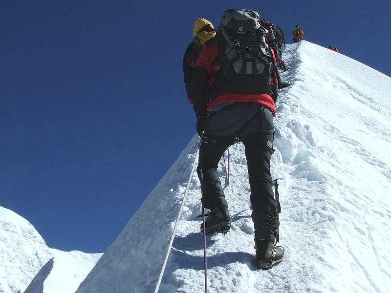 Island Peak(6190m) Climbing